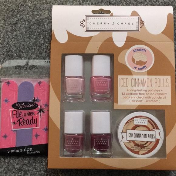 Brand New Cherry Chree Nail Polish Gift Set